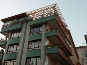 Teras Balkon Çatı Kapatma