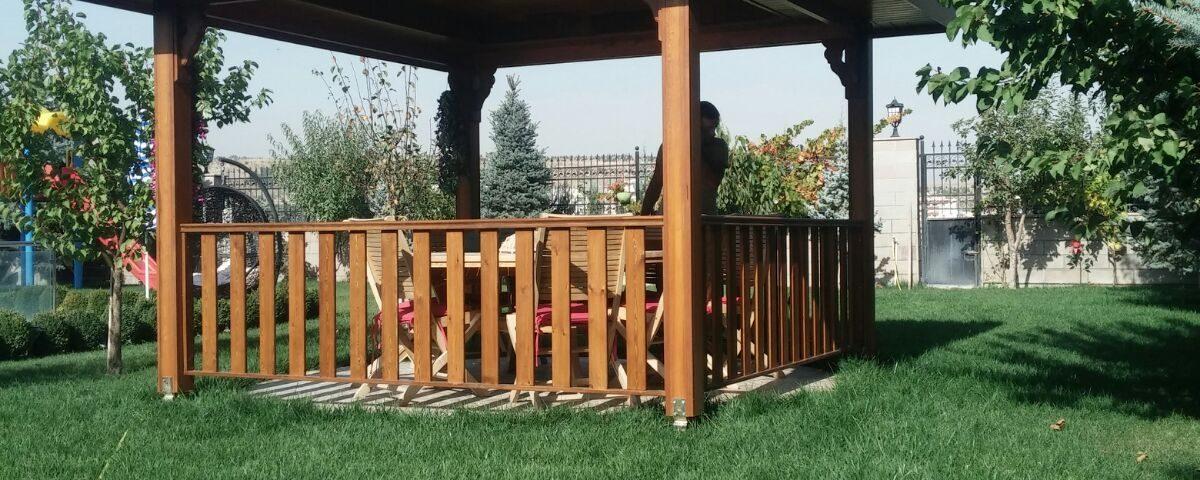 Bahçe Çardak Yapımı