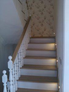 Ahşap İç Mekan Merdiven Yapımı