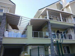Balkon Ahşap Sundurma